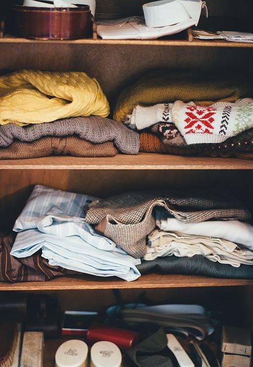 organizzare un guardaroba